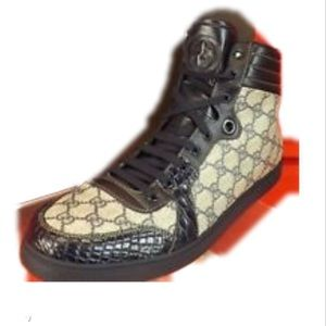 Gucci double G sneakers size 8